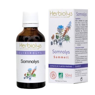 somnolys de herbiolys pour le sommeil 50 ml